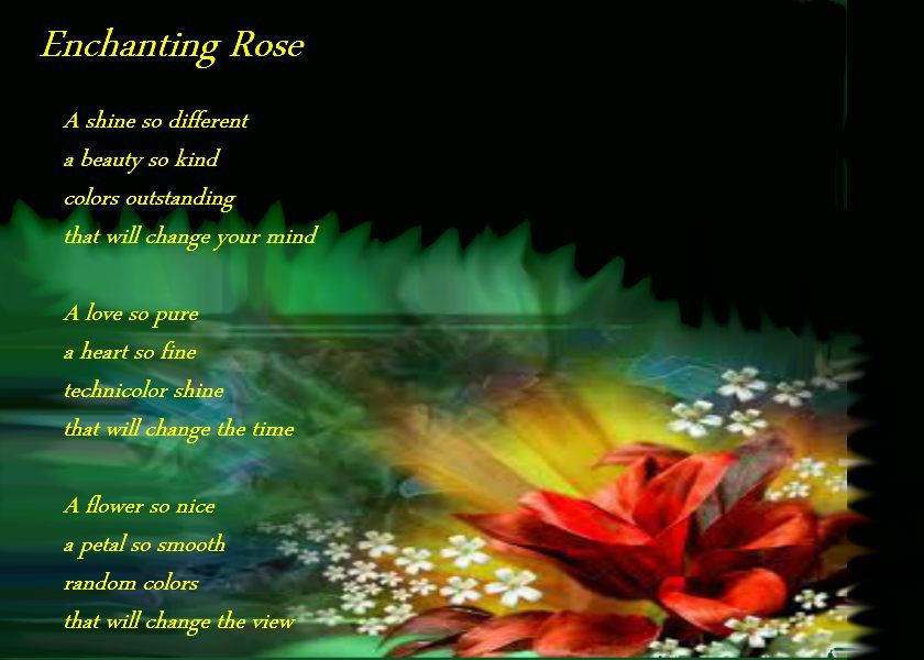 Nature Poems | Enchanting Rose - Nature Poems,,,, I Love Roses ...