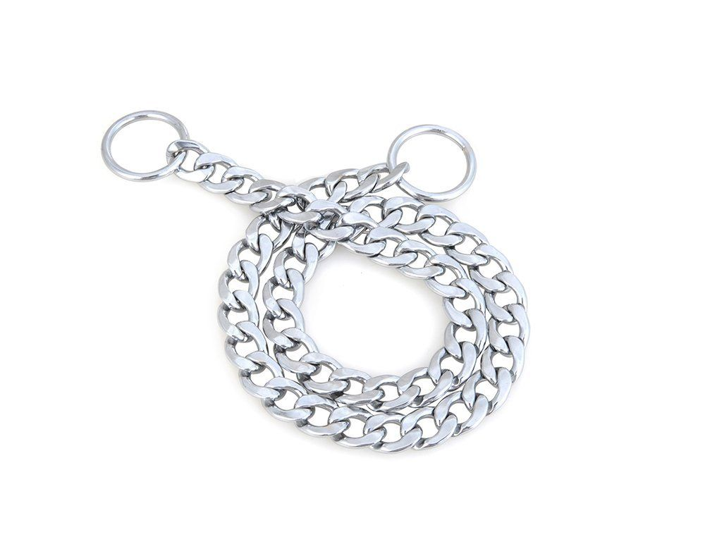"Reopetâ""¢ Chain Dog Slip Choke Collar *** Click image for more details."