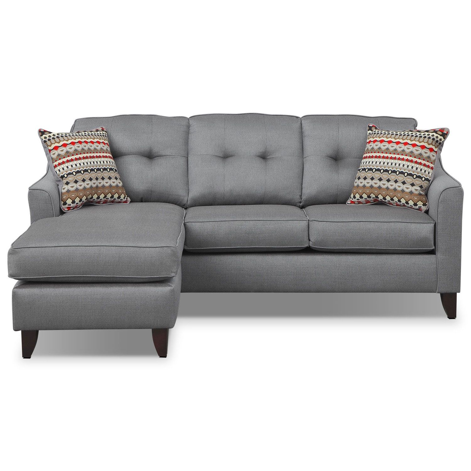 Simply Stylish Sit Back Relax And Sink Into The Comfortable Marco Chaise Sofa Upholstered Wi Sectional Sofa With Chaise Grey Chaise Sofa Grey Sectional Sofa