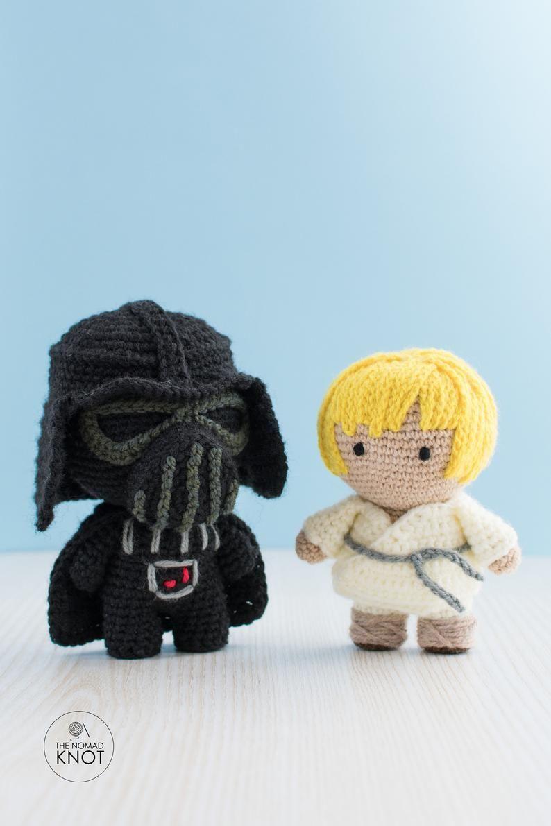 Kid Luke Skywalker Crochet Pattern Star Wars Amigurumi Toy Etsy In 2020 Star Wars Crochet Star Wars Geek Gifts Crochet Toys Patterns