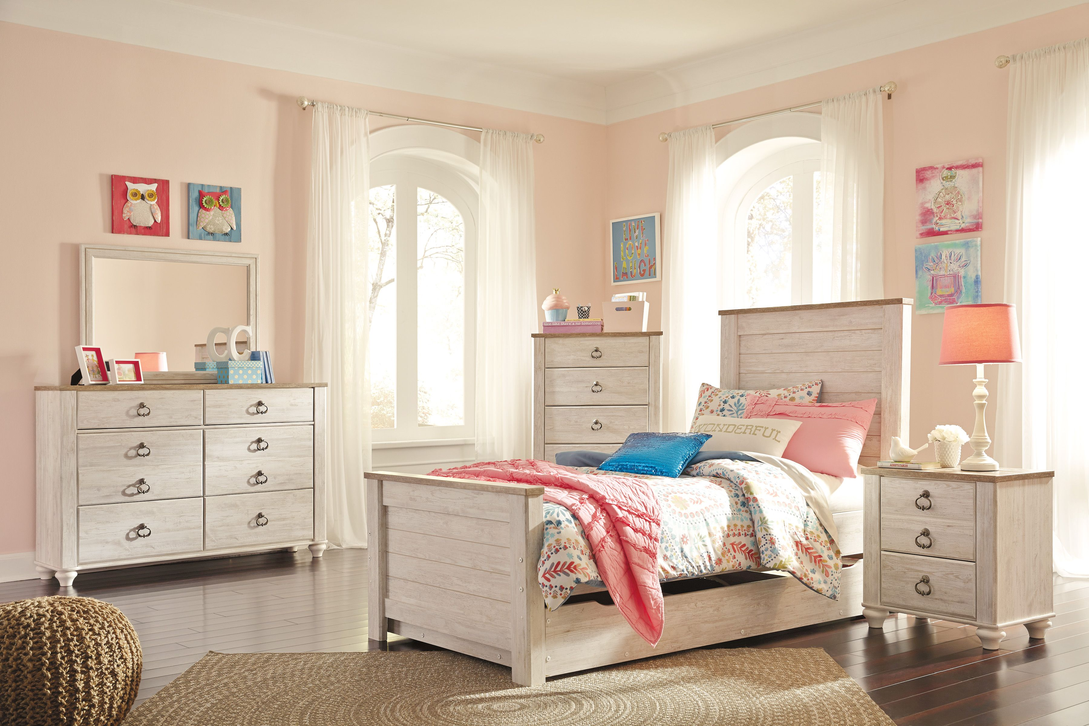 Pin by Alberta Casegoods on B267 Willowton Youth Bedroom