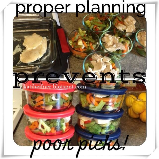 Kati Heifner: Fit Tip: Plan and Prep your Meals Ahead of Time