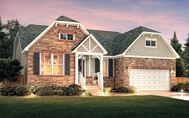 The Edinburgh Building a new home, House styles, Mooresville