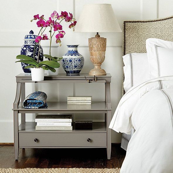 sidney open side table open table drawers and shelves