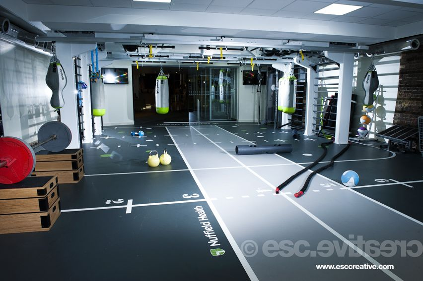 Functional Area At Nuffield Health Club London Check Out More