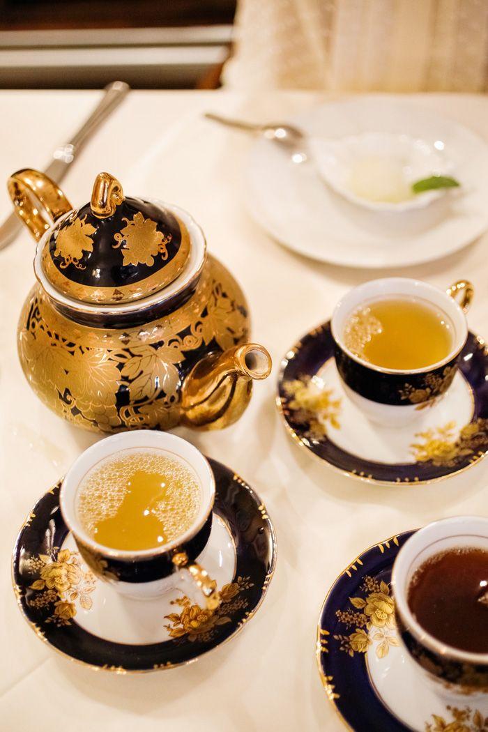 High tea…