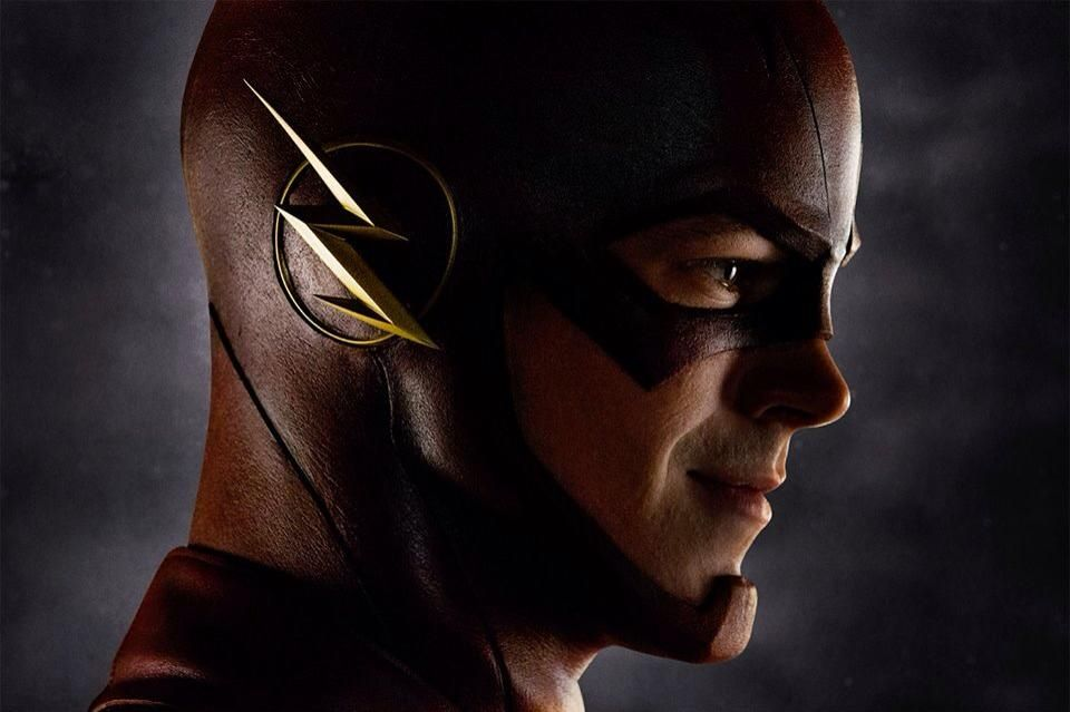 First look of the Flash as he appears in the upcoming 'Flash' TV series.