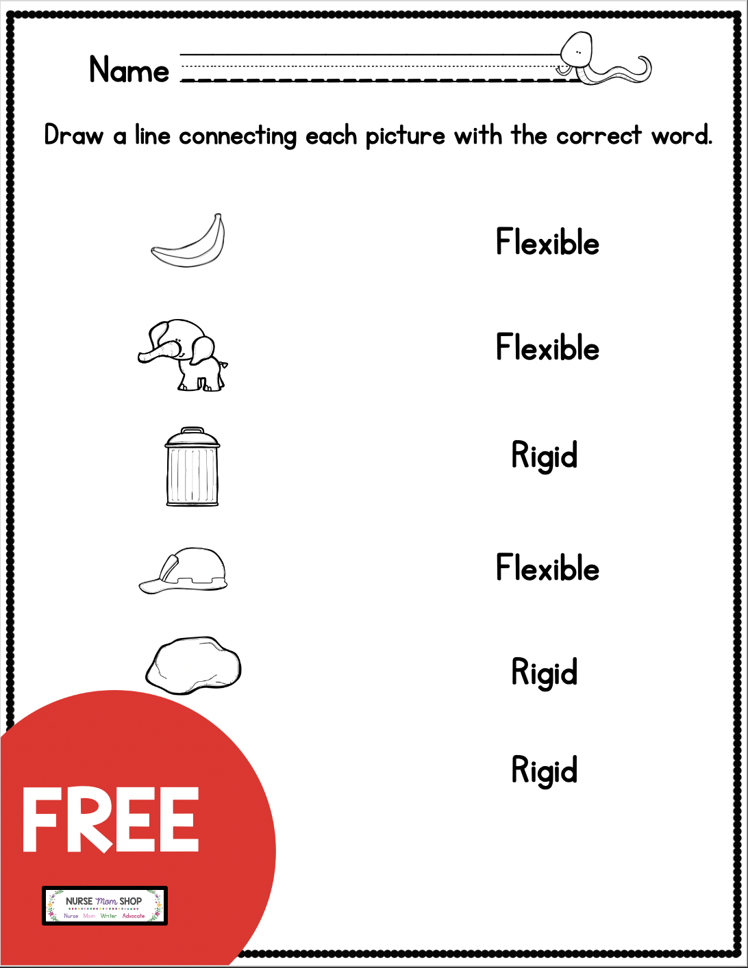 Free Kindergarten Social Emotional Learning Printables