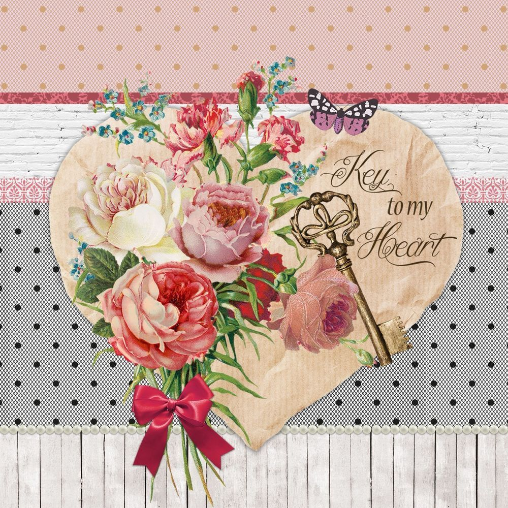 Details About 4 Lunch Paper Napkins For Decoupage Craft