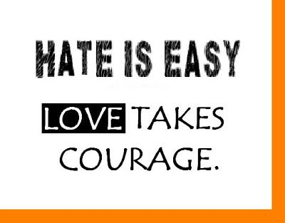 Love And Hate Quotes Prepossessing Funny Love Quotes And Sayings  Hate Is Easy Love Takes Courage . Decorating Design