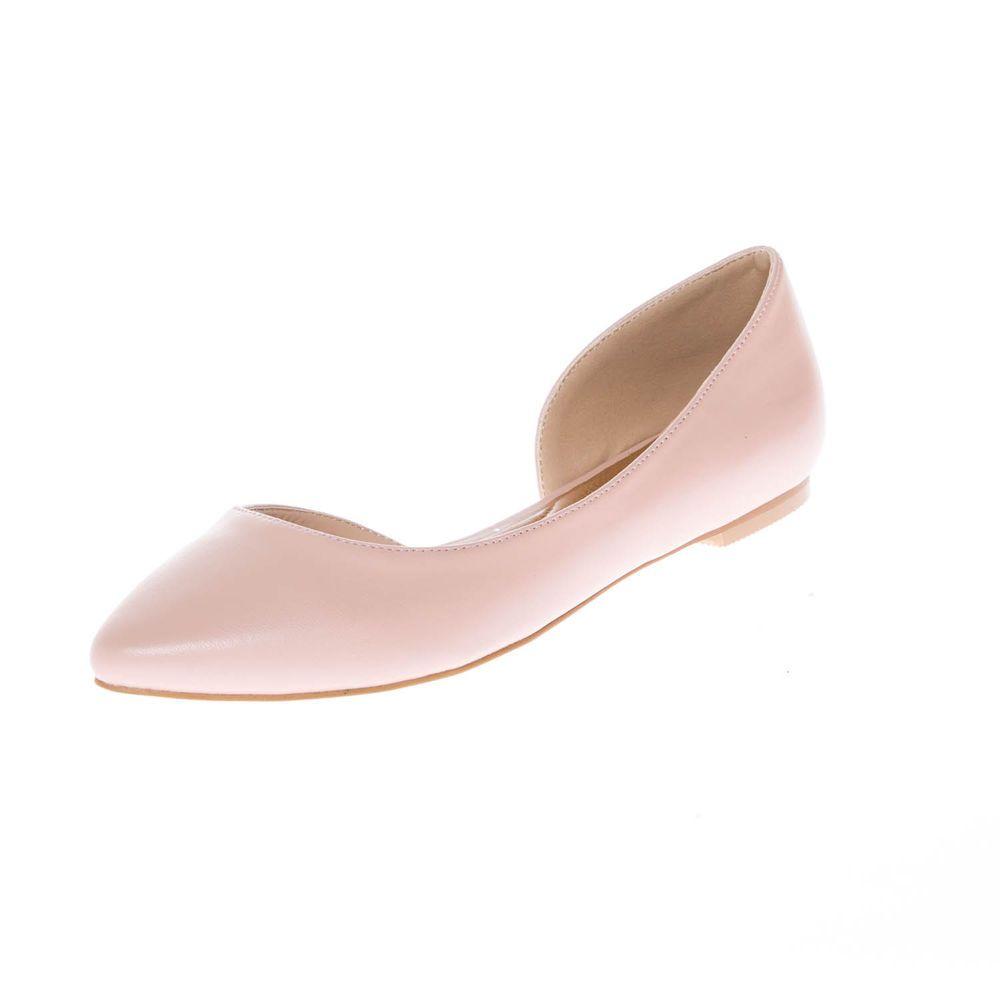 369c864df Calico Kiki Women s Slip On Comfort Half D Orsay Pointed Toe Flats ...