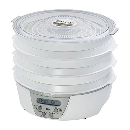 presto 06301 dehydro digital electric food dehydrator includes 2