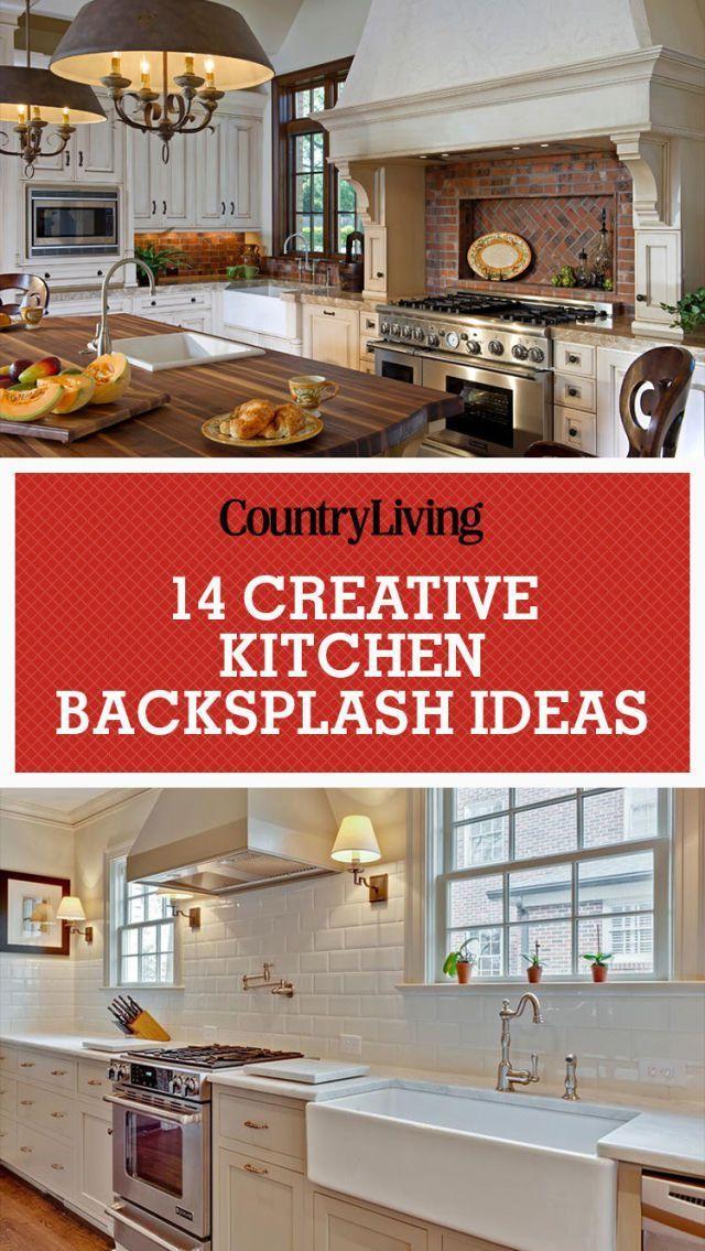 48 Creative Kitchen Backsplash Ideas Kitchen Design Ideas Best Granite Countertops And Backsplash Pictures Creative