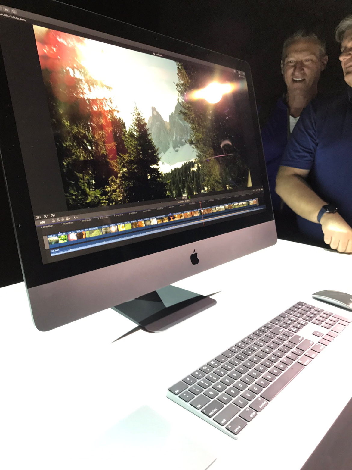New iMac Pro in all its Space Gray glory. WWDC2017 Imac