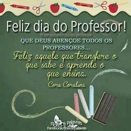 Facebook Mensagem De Feliz Dia Dos Professores Mensagem Dia Do