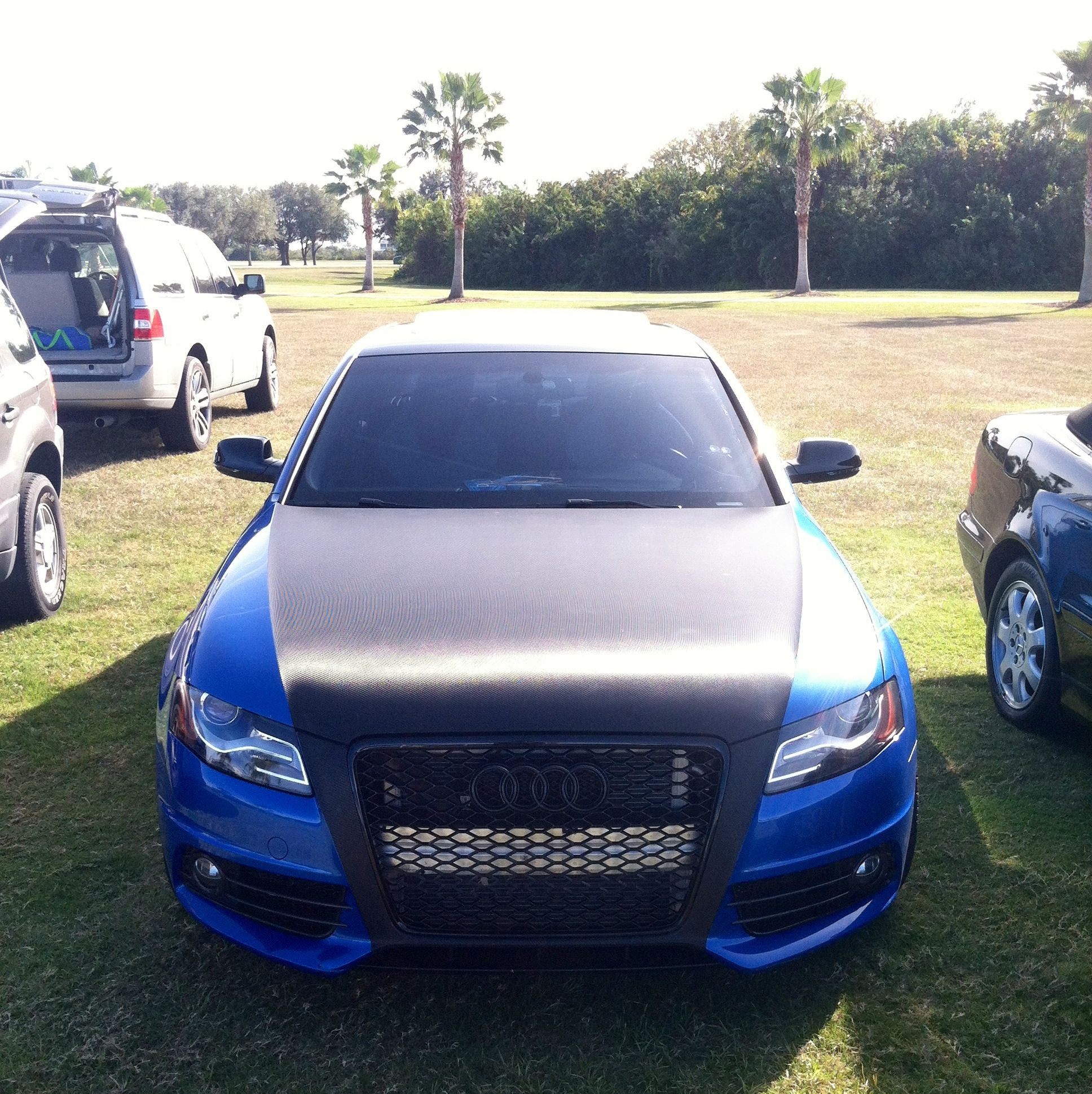 My 2011 Audi B8 S4 in Sprint Blue Audi a thing of beauty