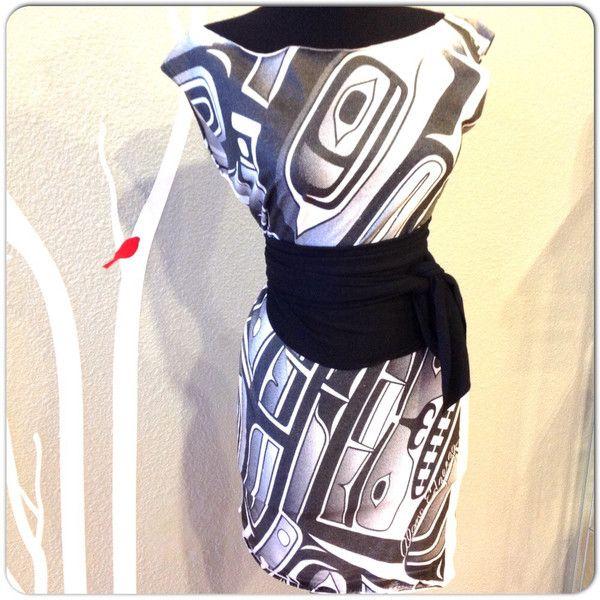Edzerza Printed Tunic with Sacred Empire Obi Belt