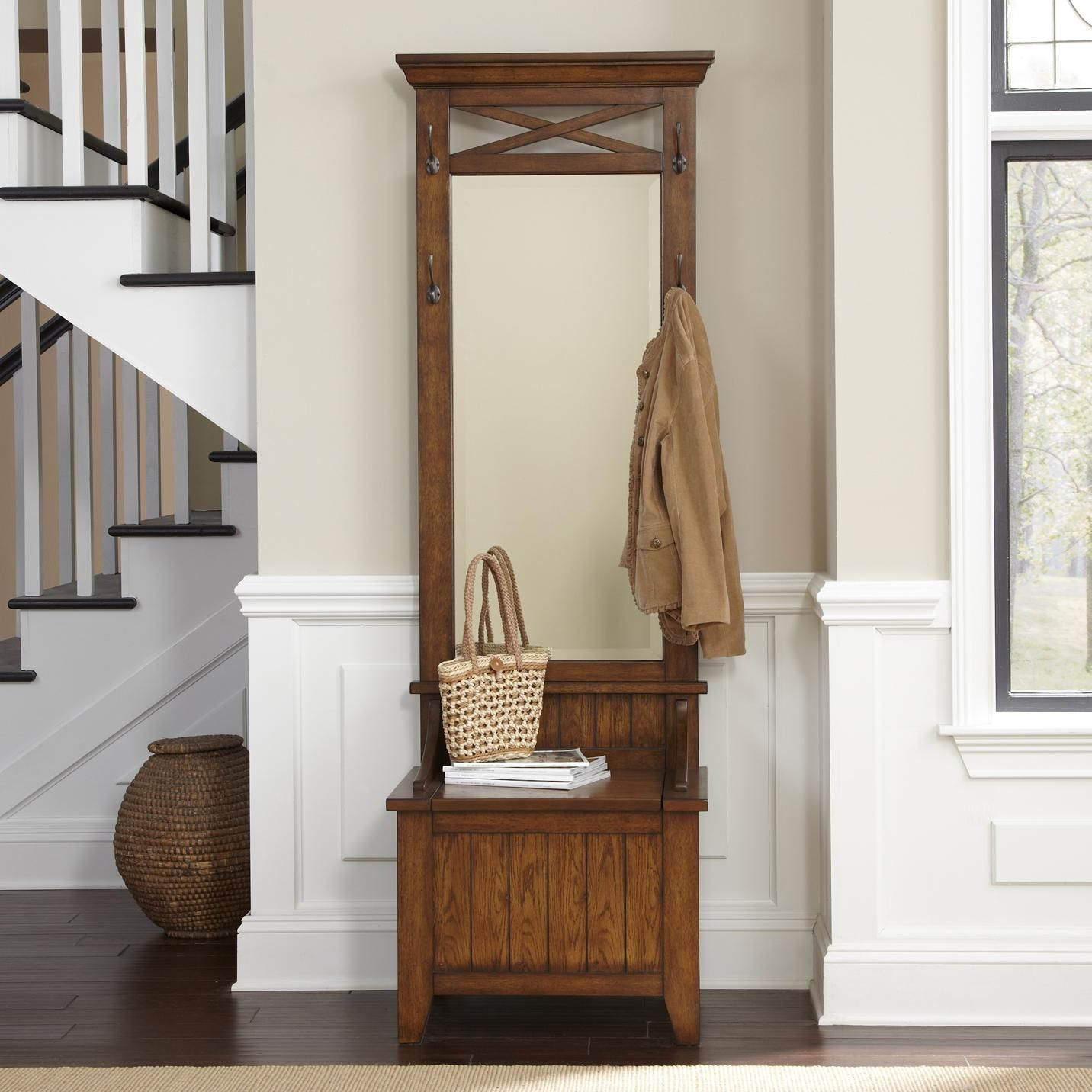 New Entry Hall Tree Furniture