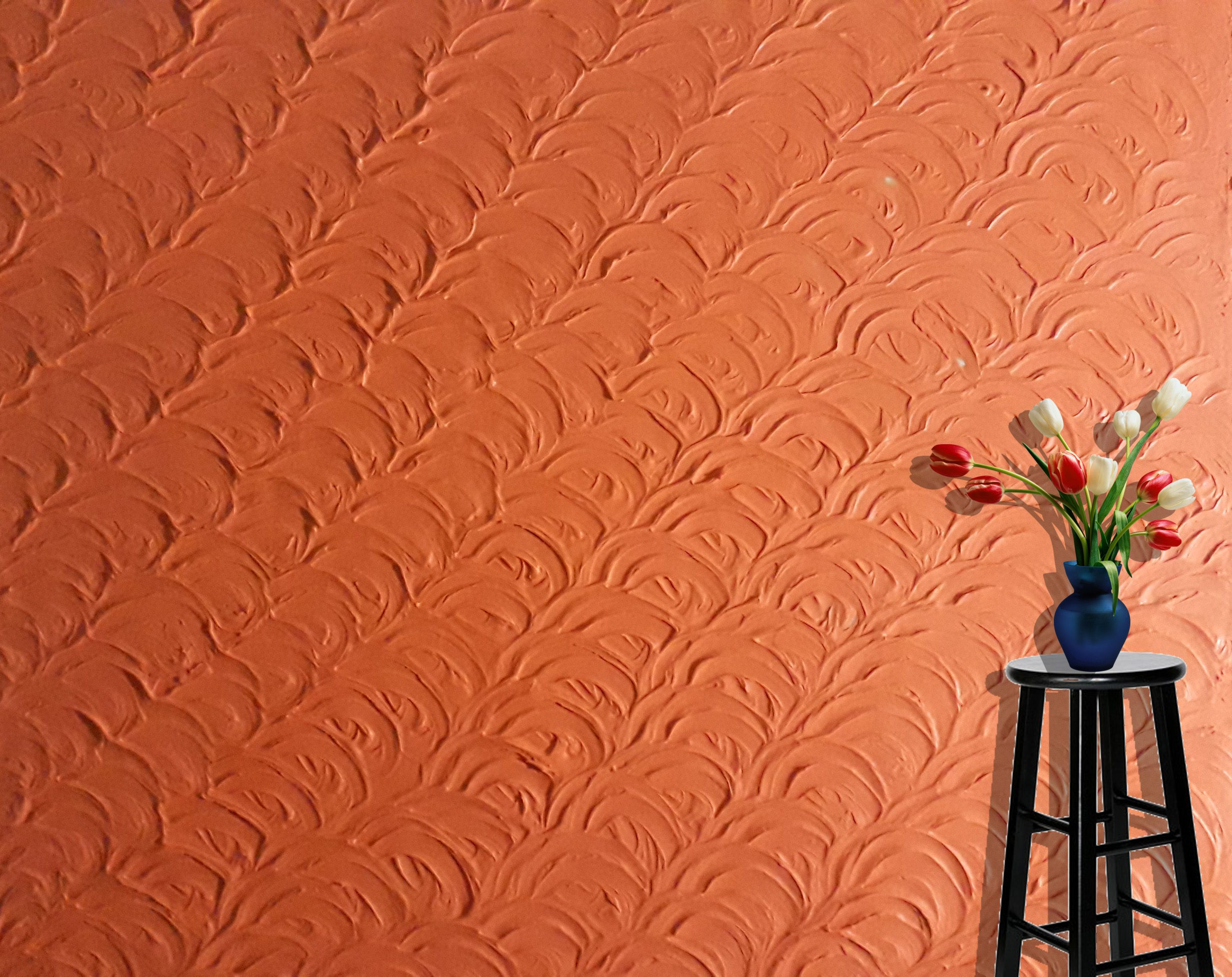 Decorative Texture On Dry Wall Wall Painting Techniques Interior Wall Design Wall Texture Design