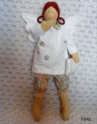 Moje anielskie inspiracje: Śpiący Aniołek.