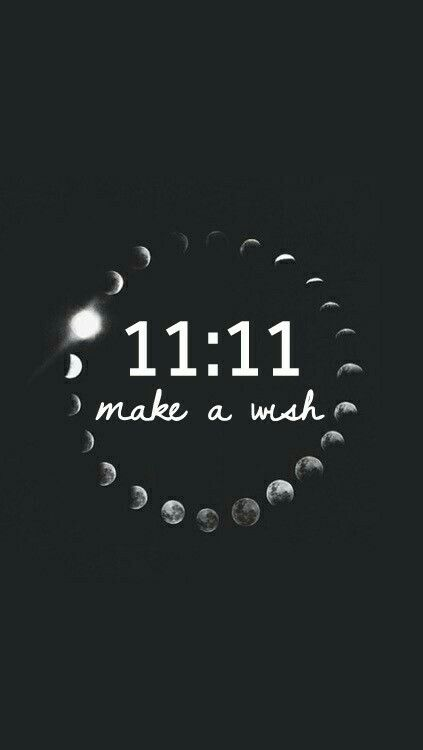 11:11 Make A Wish l Motivation & Inspiration l Positivity Wallpaper Background