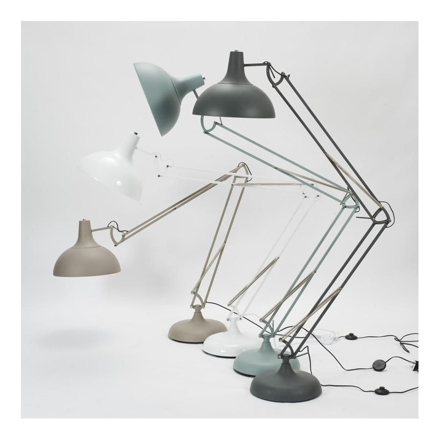 Giant Anglepoise Style Floor Lamp