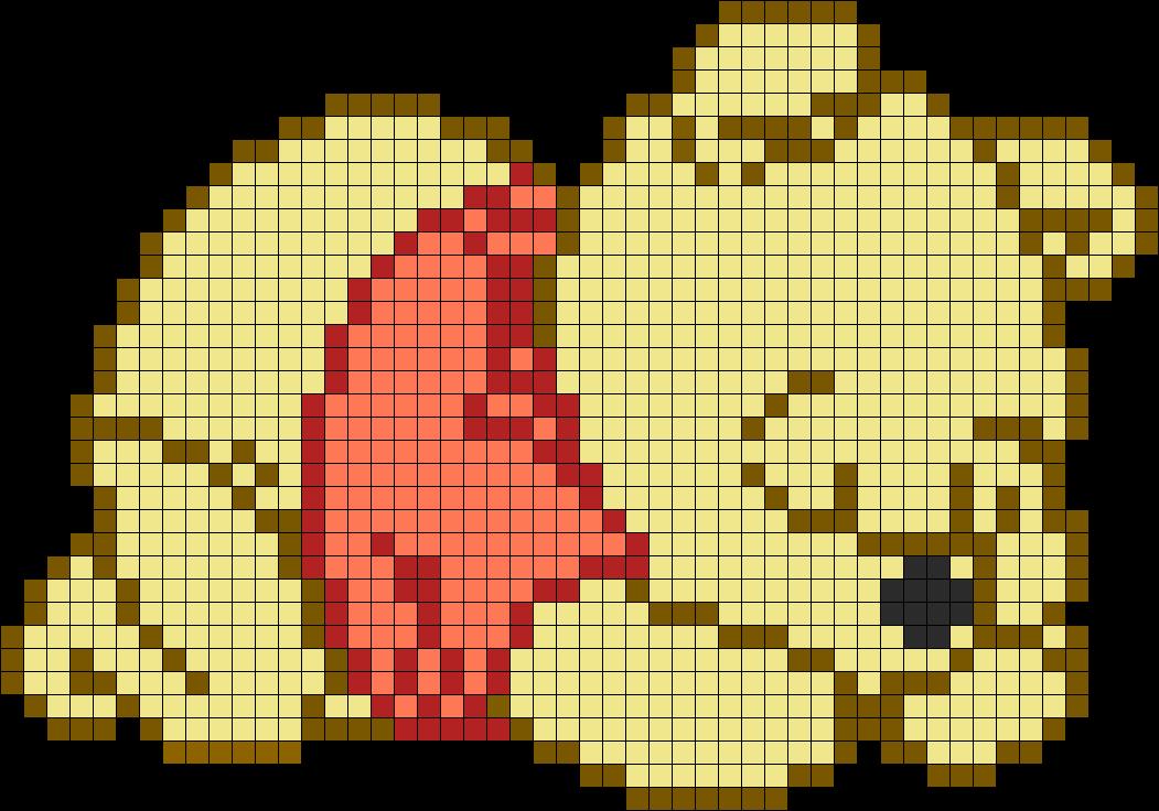 Adorable Sleeping Winnie The Pooh Perler Bead Pattern Bead Sprite