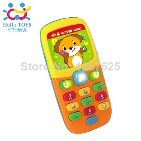 Baby Toys Cellphone Mobile Phone Educational Learning Machine Phone Toy Children