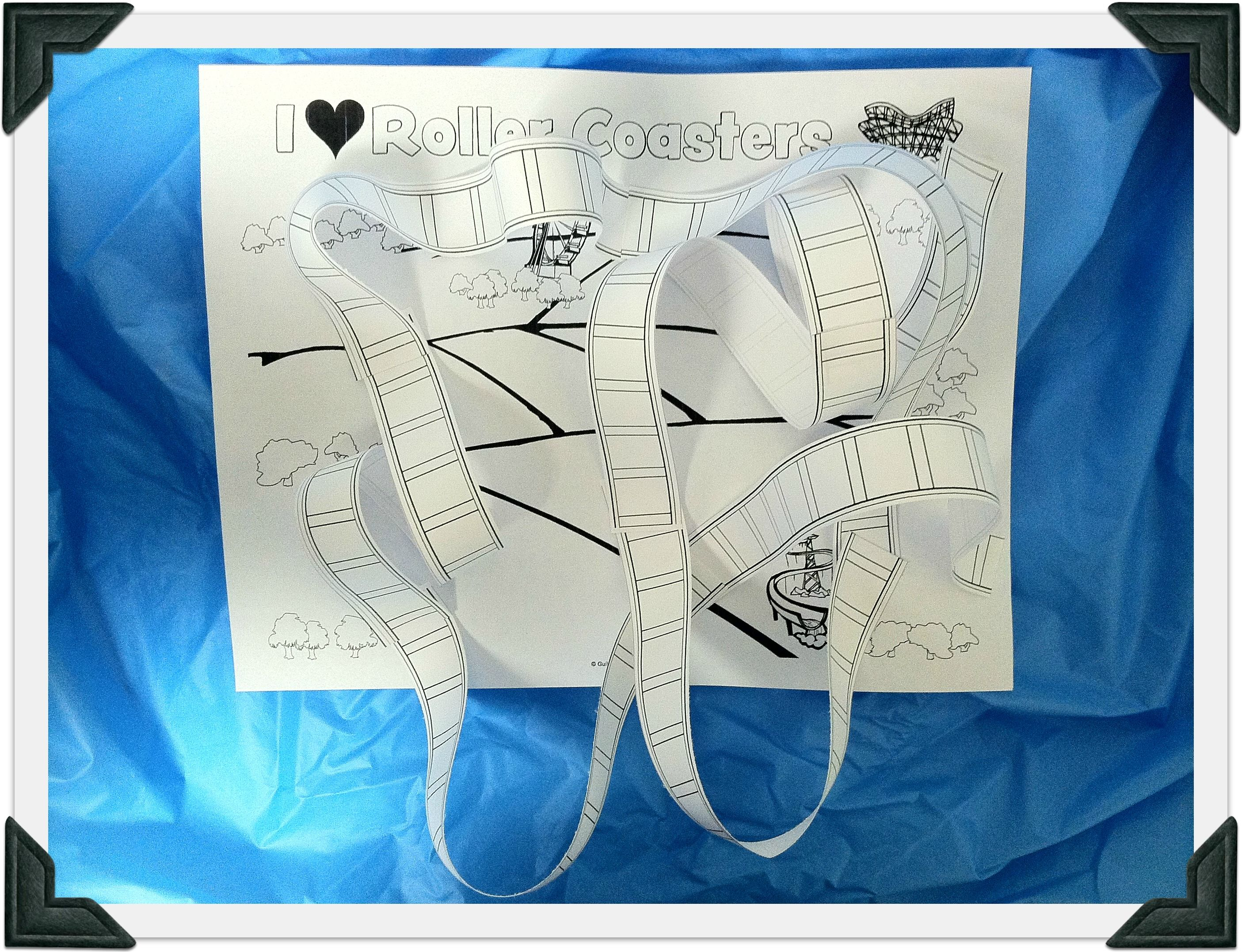 Freebie friday build your own roller coaster for Guildcraft arts and crafts
