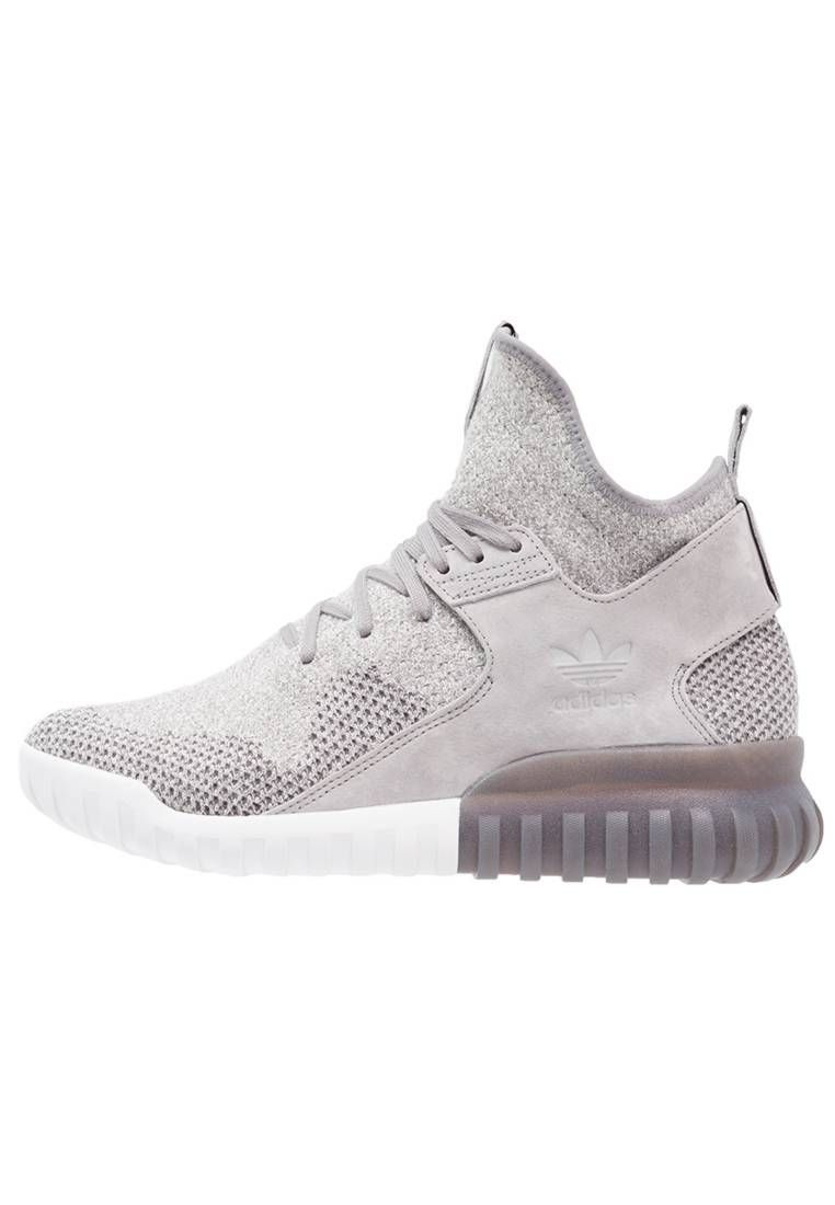 8d60f04c1074 adidas Originals. TUBULAR X - High-top trainers - solid grey utility black  crystal white. Pattern marl. Sole synthetics. Shoe tip round.