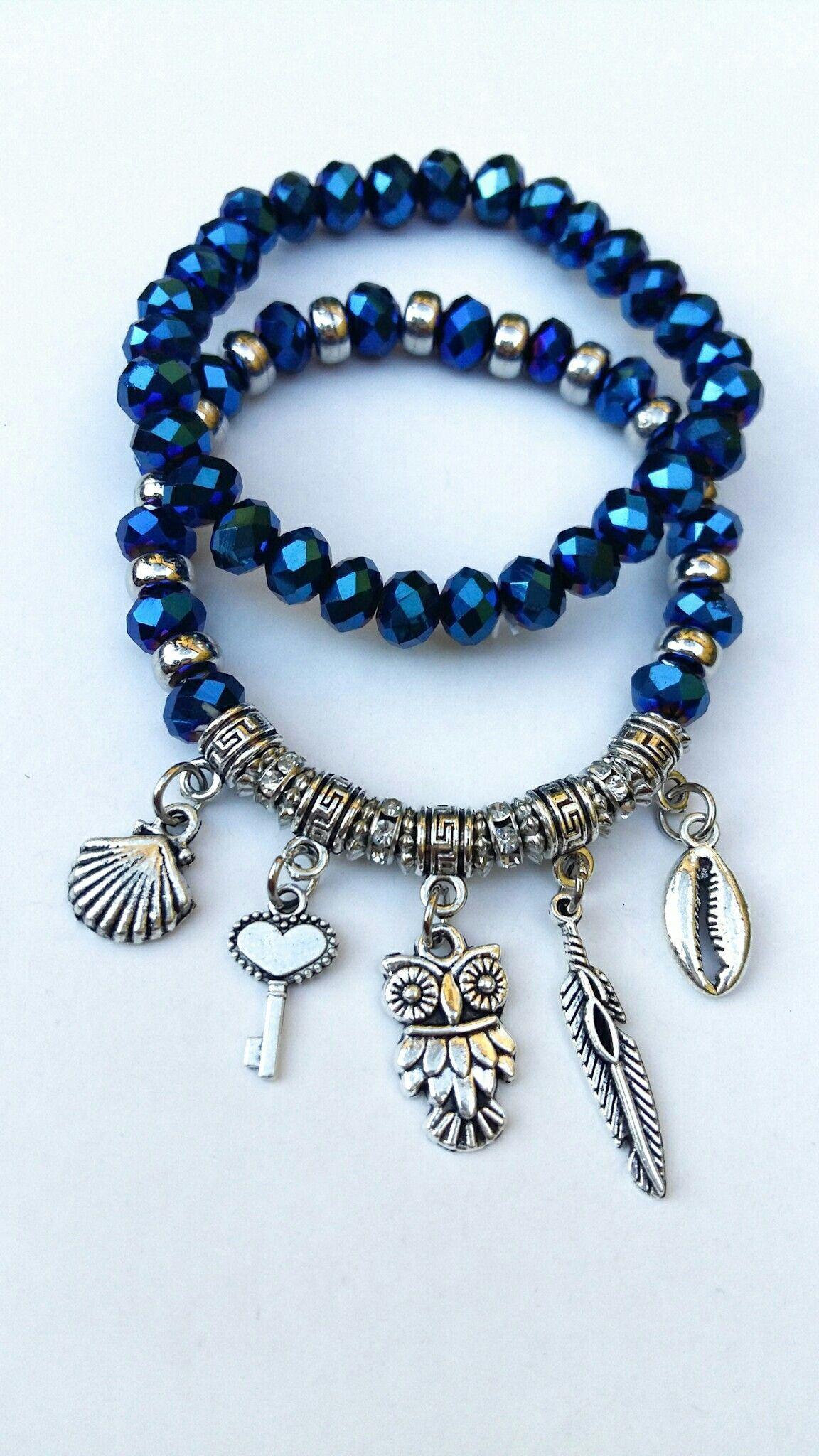 0959c504f791 Pulseiras #jewelrymakingtutorials | BISUTERIA BRAZALETES | Pulseras ...