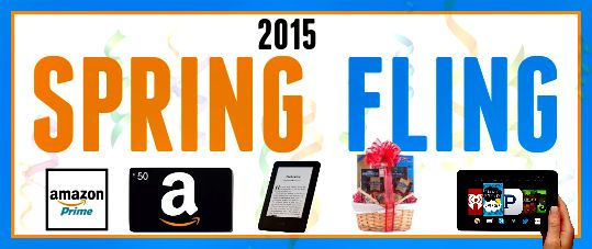 SPRING FLING - BIG Win a Kindle, Amazon Cash or Chocolate at The #1 Site For #Reader #Giveaways-The Kindle Book Review http://wp.me/P2H01p-6xFwi