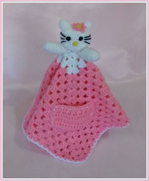 Naninha hello kitty bebe | Pinterest | Hello kitty, Manta y Patrones ...