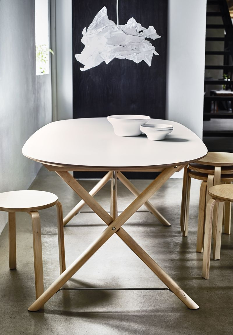 DALSHULT/SLÄHULT | Oval table dining, Furniture, Interior