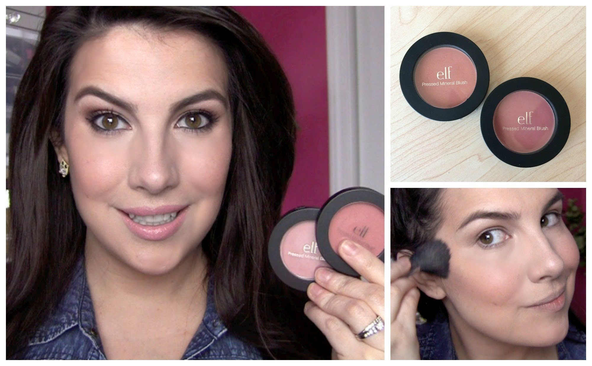 ELF Pressed Mineral Blush Review Makeup reviews, Makeup