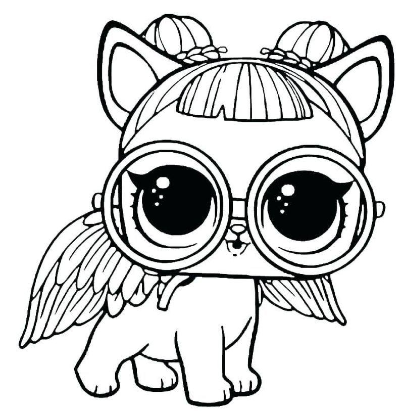 Littlest Pet Shop Coloring Pages Unicorn Coloring Pages Lol Dolls Horse Coloring Pages