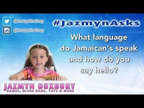 JazmynAsks What Language Do Jamaicans Speak And How Do You Say - What language do they speak in jamaica