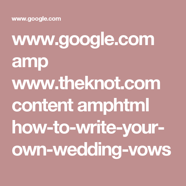 Google Amp Theknot Content Amphtml How To Write Your