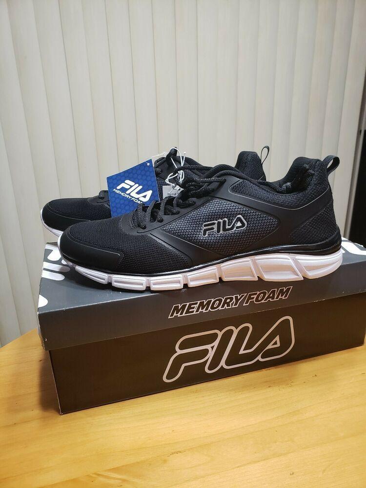e3f0b4bb8004 Fila Mens Memory Foam SteelSprint Athletic Shoes - (m US)- Pick SZ Color.   FILA  Sport