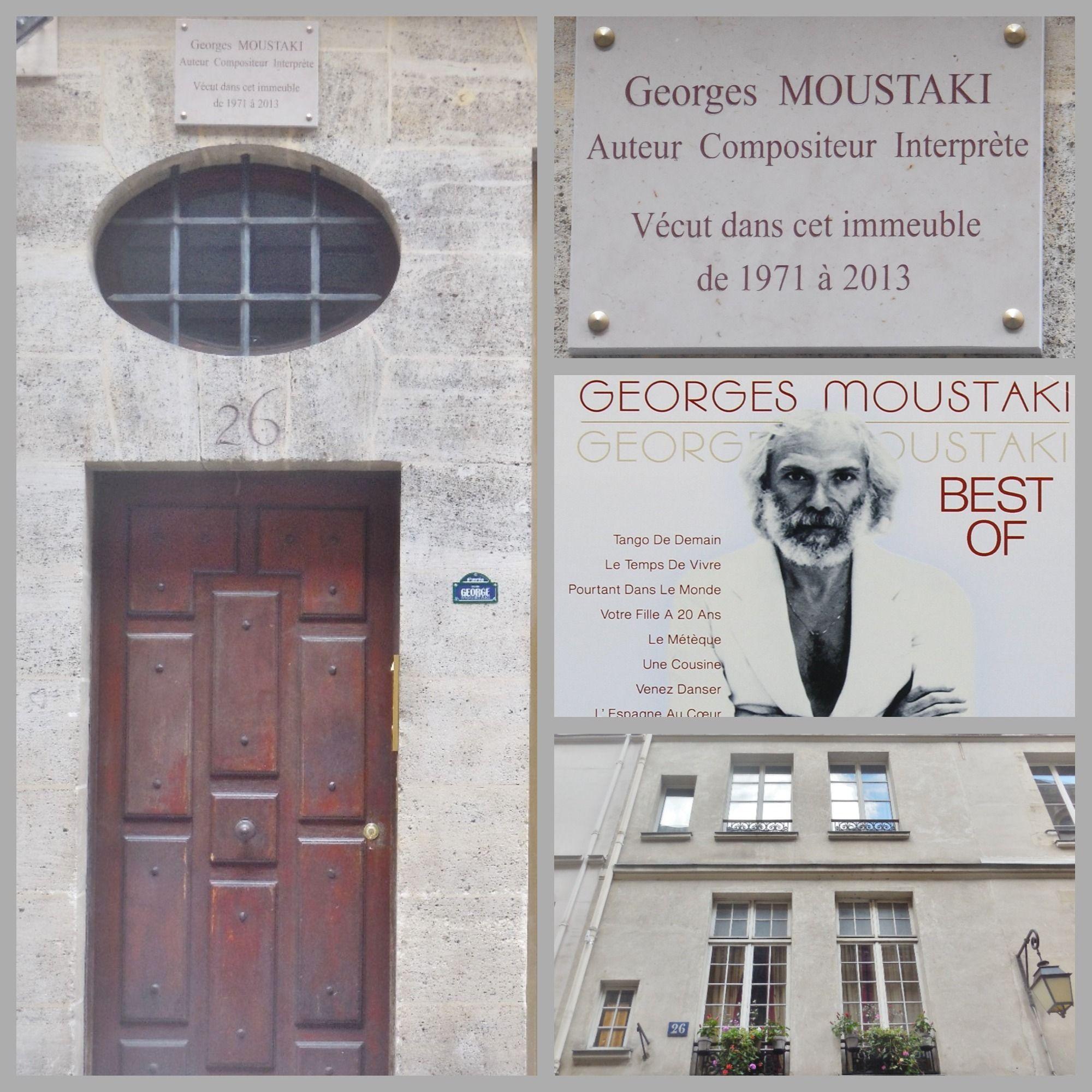Georges Moustaki 1934 2013 était un auteur positeur italo
