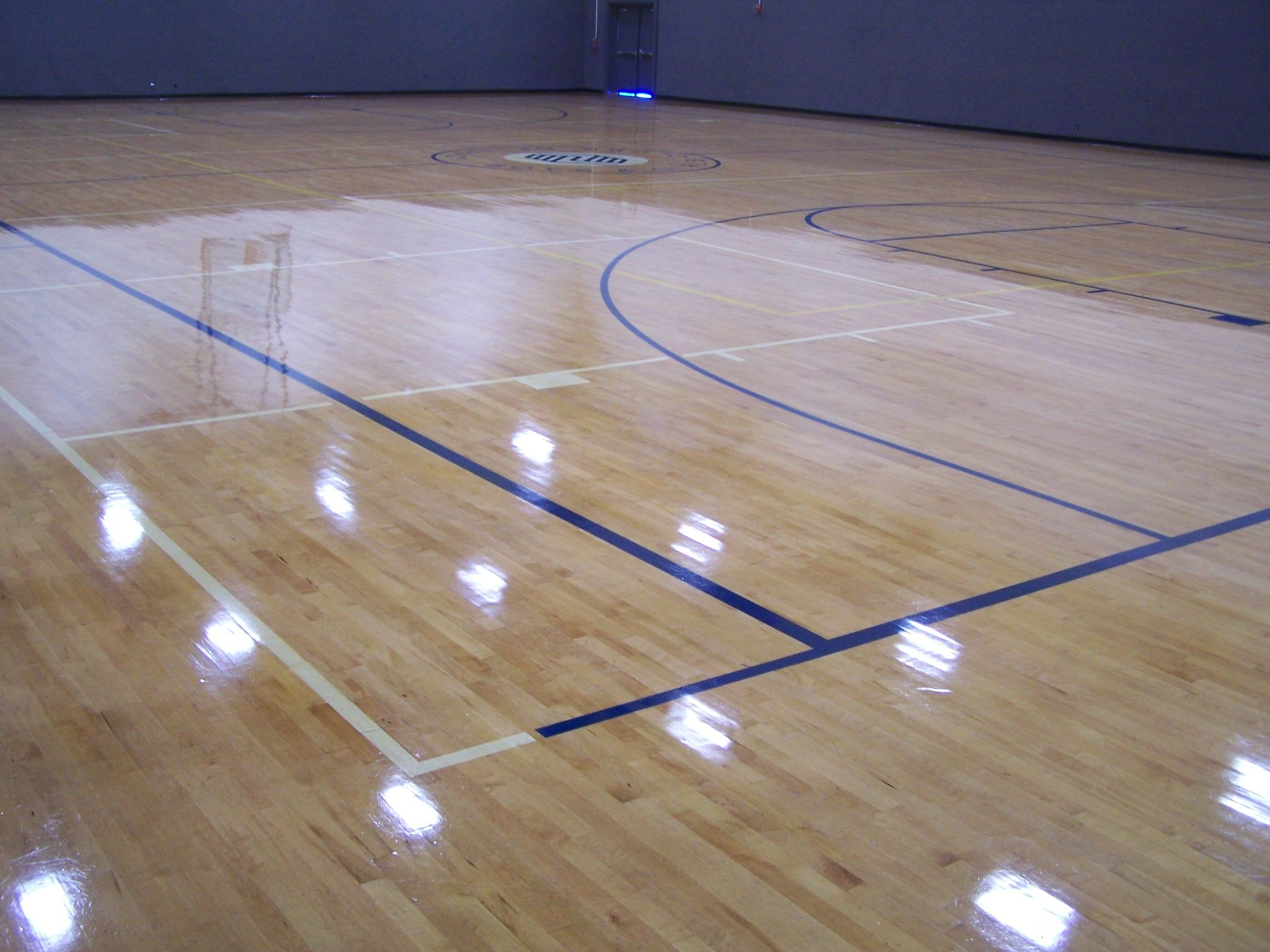 Beautiful Gym Floor Varnish
