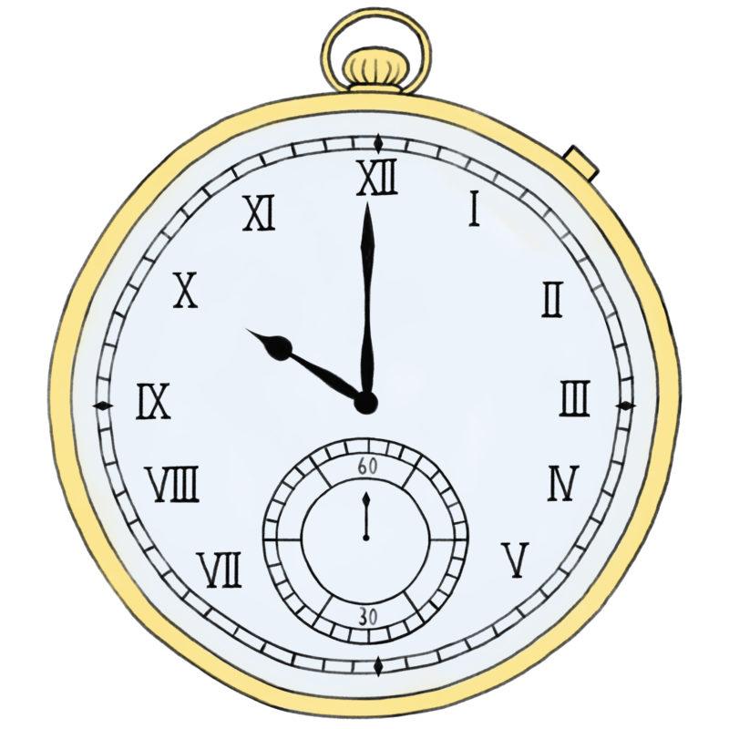 クロノメーター 携帯用ぜんまい時計 ちょっぴり個性的な商用ok無料イラスト素材 The Drawers 時計 無料 イラスト 素材 イラスト