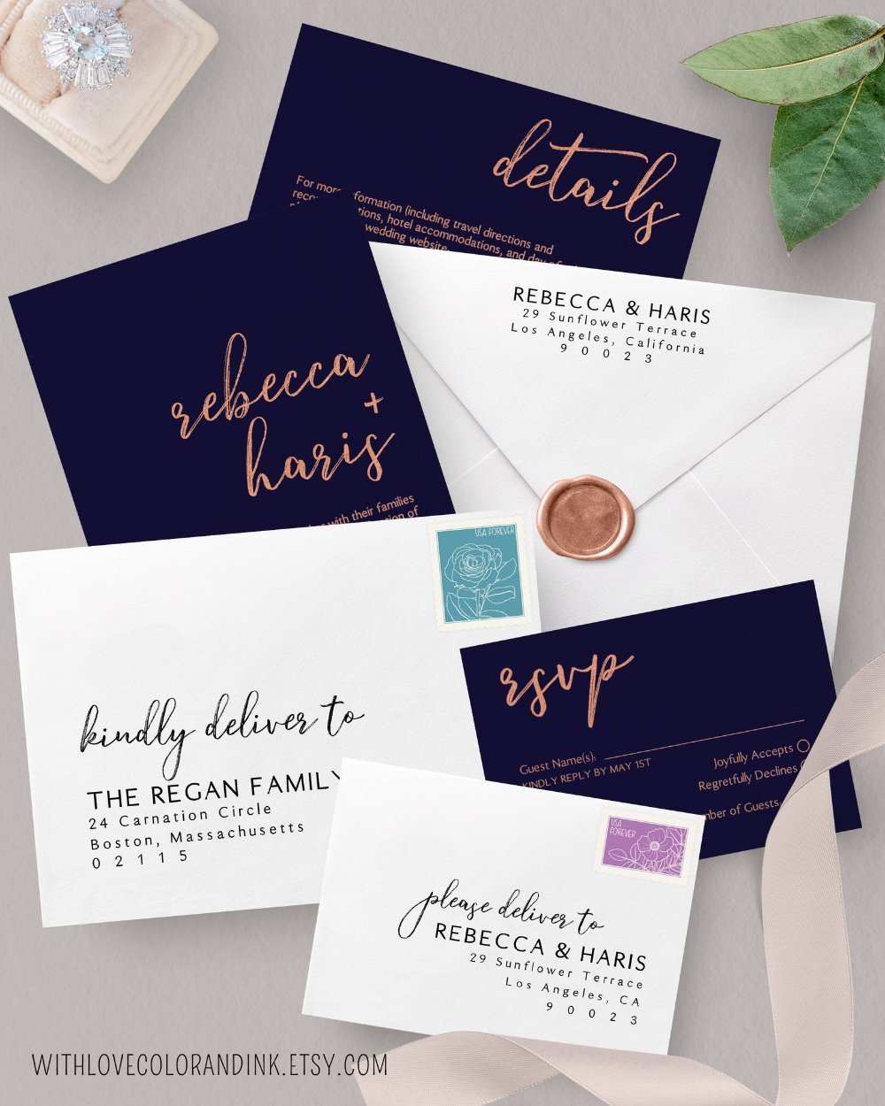 Pin By Rebecca Lt On Wedding Stationery Invitations Programs In 2020 Envelope Template Wedding Stationery Card Envelopes