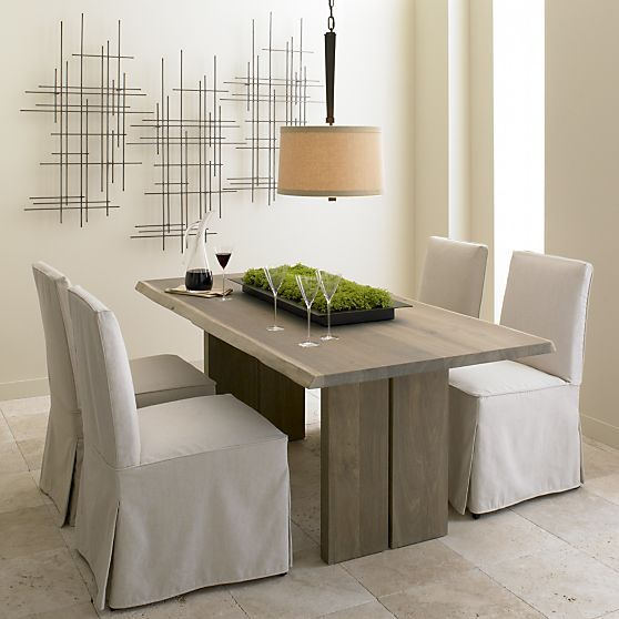 Reflection Centerpiece In Candleholders Crate And Barrel Long Rectangular Tray