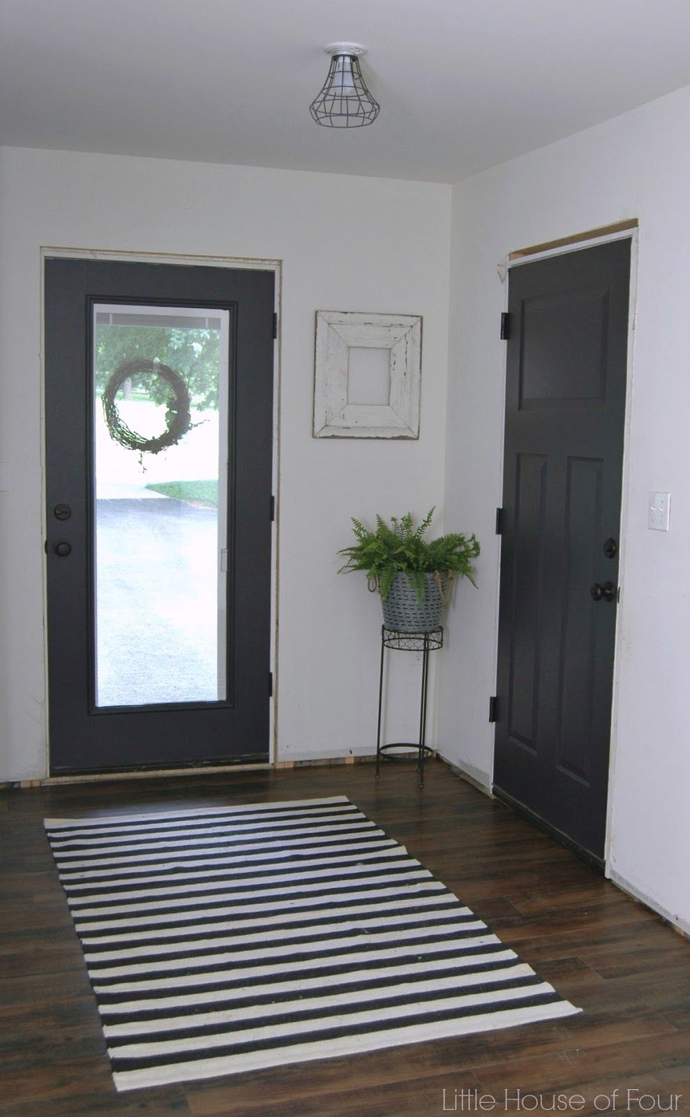 Mudroom progress paint makes all the difference painting interior painted interior doors with sherwin williams iron ore planetlyrics Image collections