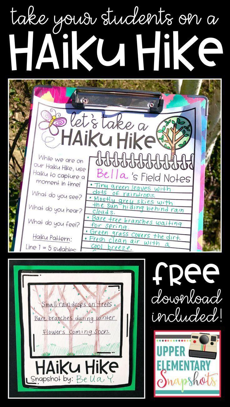 Take Your Students on a Haiku Hike Teaching poetry