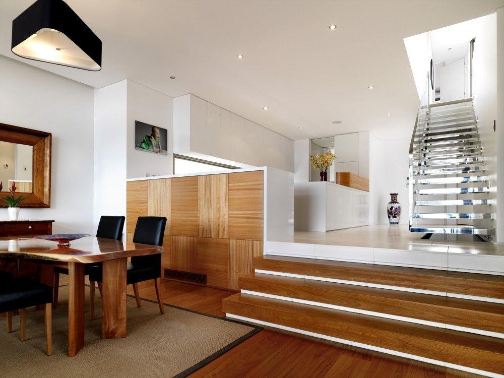 Interior aspect of Casa Euryalus in Mosman, Australia by Luigi Rosselli Architects