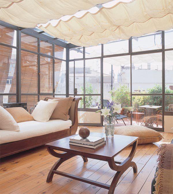 Integrar la terraza las terrazas tendedero y terrazas for Decorar terraza acristalada