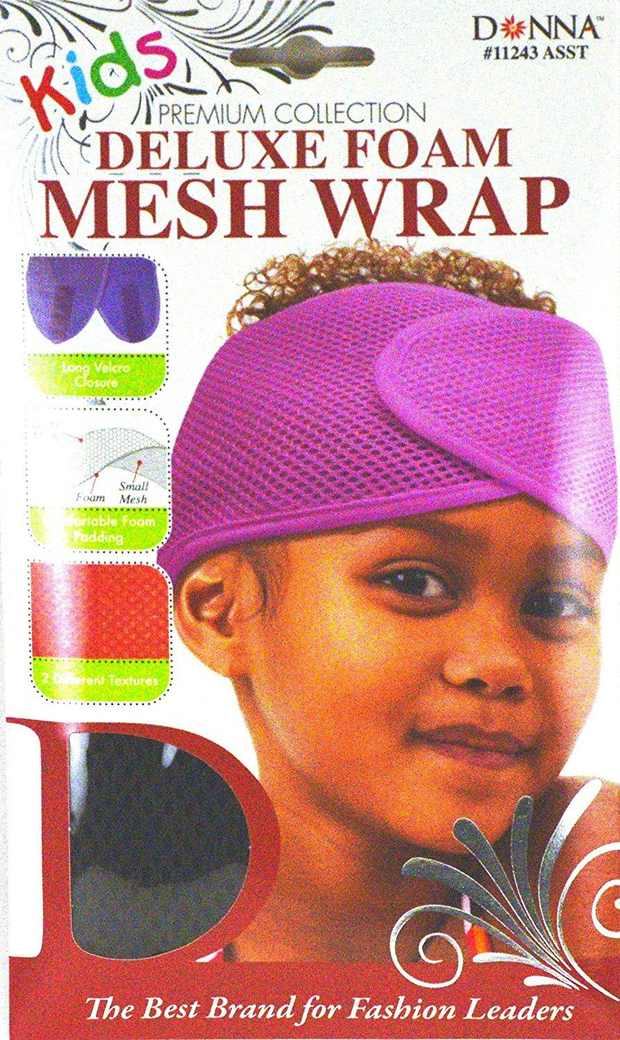 Donna Premium Collections Kids Deluxe Foam Mesh Wrap Brown 11243 >>> You can get more details by clicking on the image.