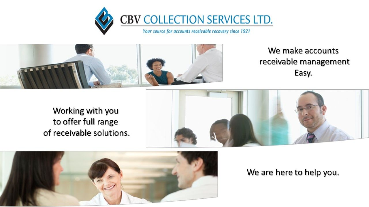 Cbv S Mission Is To Be The Leader In Accounts Receivable